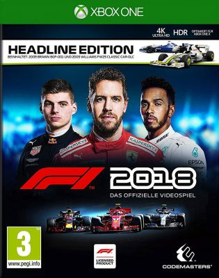 Xbox One Formula 2018 -- Headline Edition (PEGI)