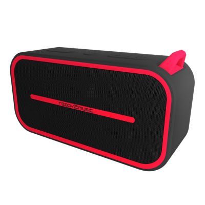 ready2music Hydrix BT Speaker, red/black