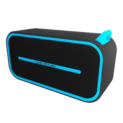 ready2music Hydrix BT Speaker, blue/black