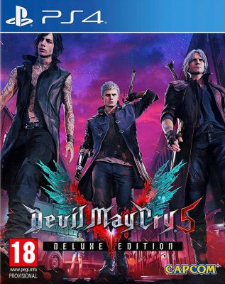 PS4 Devil May Cry 5 Deluxe Edition (PEGI)