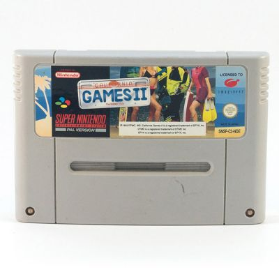 SNES California Games 2