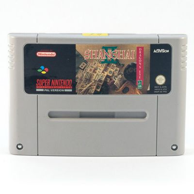 SNES Shanghai Dragon´s Eye