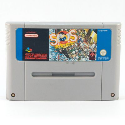 SNES SOS Sink Or Swim