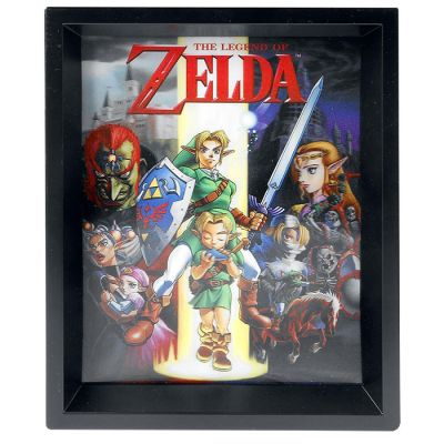 The Legend of Zelda 3D Bild