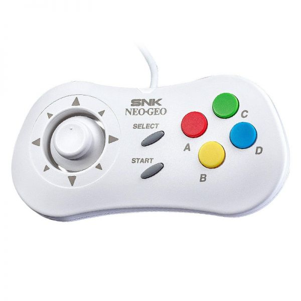 SNK Neo Geo mini  Gamepad, white